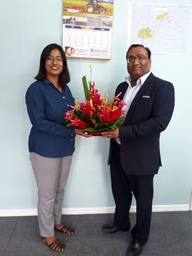 NIA Nadi Branch Welcomes Ms Bhoomika Shrivastav Paliwal
